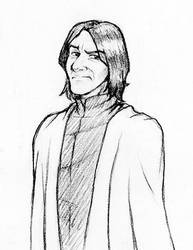 Professor Snape by laerry