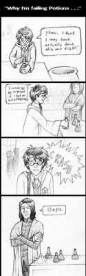Why I'm Failing Potions by laerry
