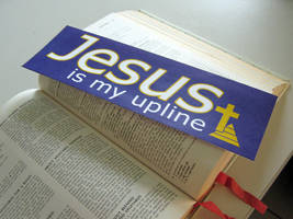 Jesus is My Upline by toenolla