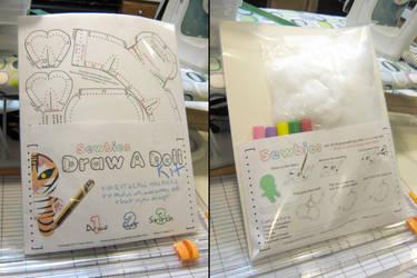 Sewbies Draw A Doll Kit Mockup by toenolla