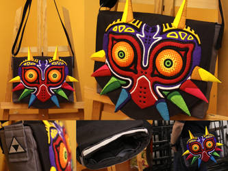 Majora's Mask Laptop Bag by toenolla