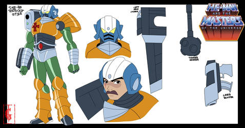 MAN-AT-ARMS | SHE-RA  RESTYLE by GOICHIMONJI
