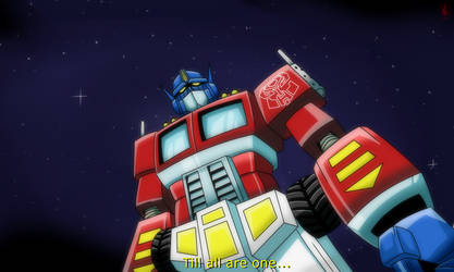 TRANSFORMERS | TILL ALL ARE ONE by GOICHIMONJI