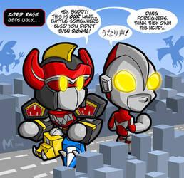 Lil Formers - Power Rangers by MattMoylan