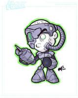 Commission - Lil Borg by MattMoylan