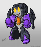 1984 Decepticon Skywarp by MattMoylan