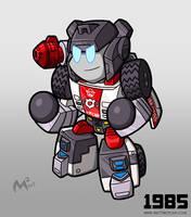 1985 Autobot RedAlert by MattMoylan