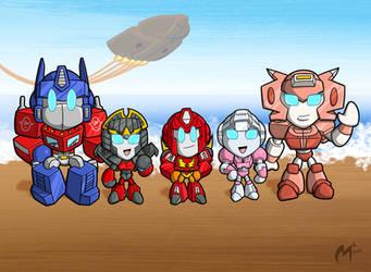Autobot Family by MattMoylan