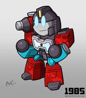 1985 Autobot Perceptor by MattMoylan