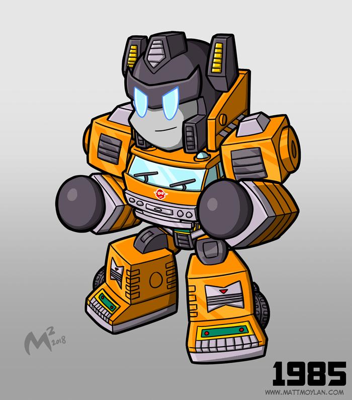 1985 Autobot Grapple by MattMoylan