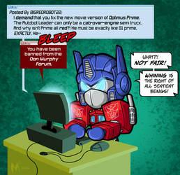 Lil Formers - Optimus Prime by MattMoylan