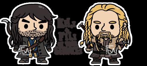 Fili and Kili! at your service! by MinjiXMuu-chan