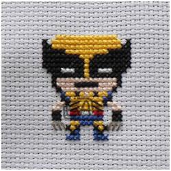 Wolverine Cross Stitch! by MinjiXMuu-chan