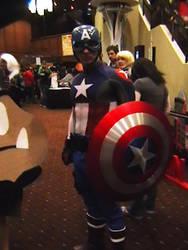 'America' Avenger At Akicon by cougashika