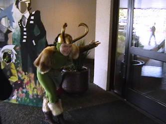 Loki At Aki-Con by cougashika
