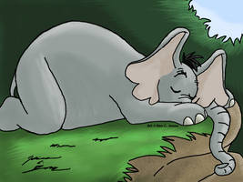 Horton Napping by Slasher12