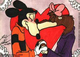 Mortimer and Stella Valentine's day by Slasher12