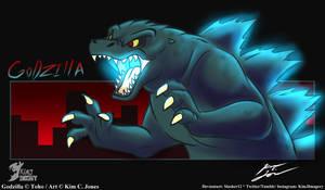 Godzilla by Slasher12