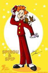 Spirou and Spip by Slasher12
