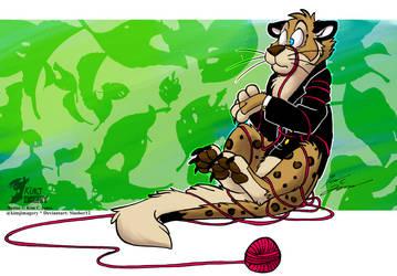 Nestor plus yarnball equals by Slasher12