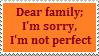 Stamp: Dear Family- Perfect by Riza-Izumi