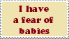 Stamp: Fear of babies by Riza-Izumi