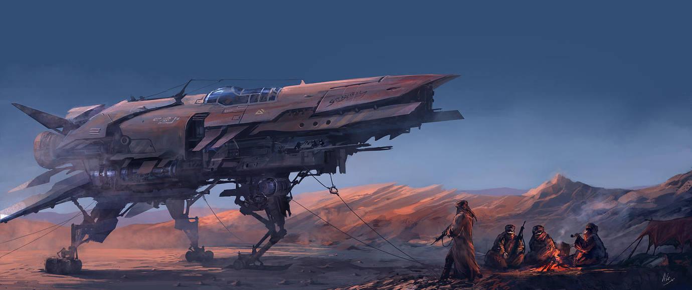 At Dawn by alex-ichim