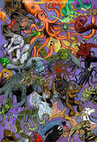 Cryptid Creatures and Mysterious Monsters by MathewJackson