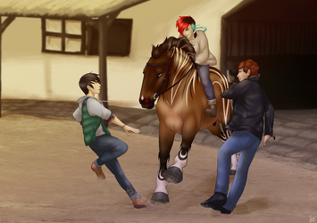 OUTOFMYWAY! by just-sora