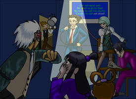 Phoenix Wright: Karaoke by androidgirl