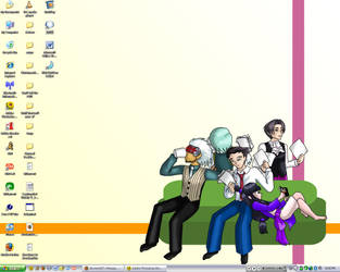My desktop by androidgirl