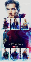 Doctor Strange posters collage by asherlockfan