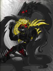 Zato 1 as a Panther by shinragod