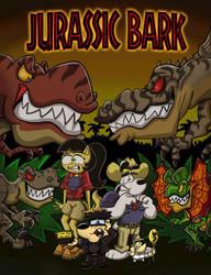 Jurassic Bark Cover by shinragod