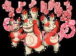 Spinda Teeter Dance by shinragod
