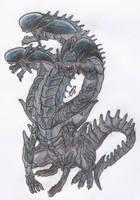 Hydra Xenomorph by damiangarmendia646