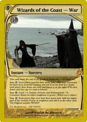 WotC - War Magic Card by blacwind1kaze