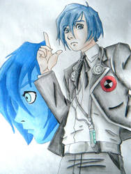 Main Protagonist: Persona 3 by SelotapeRetard