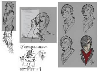 TEW2 - Stefano sketch by Shincomics