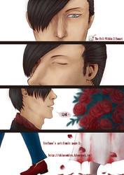 Stefano's art (Comic page 1) by Shincomics