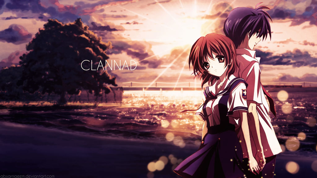 Clannad - Tomoya and Nagisa - Wallpaper by AbsarNaeem