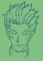 Hisoka Sketch by Non-Factor