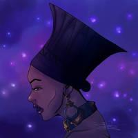 Queen Ramonda  by Izzy2-Draw