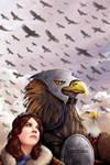 Final Flight of the Roc Riders by ArtistXero