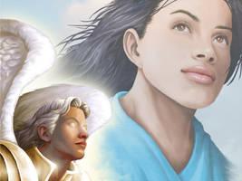 The Annunciation by ArtistXero