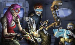 Shadowrun: Seattle 2072 by ArtistXero