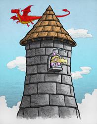 Princess Tower by ArtistXero