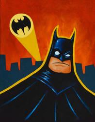 The Batman by ArtistXero