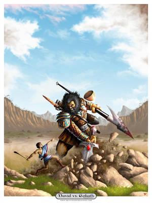 David vs. Goliath by ArtistXero