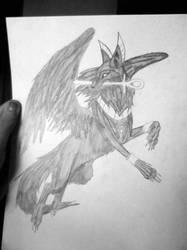 Anubis Dog by Penguins-Fan